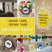 brown birthday party brown brown birthday party