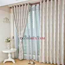 White Curtains With Blue Pattern Graceful Embroidered Flowers Pattern Silver Curtains Buy Silver