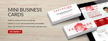 mini business cards small and by overnight prints