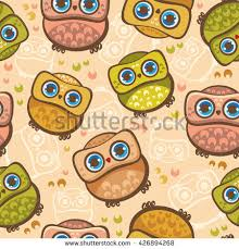 Wallpaper With Birds Seamless Vector Pattern Avocado Polka Dot Stock Vector 377663221