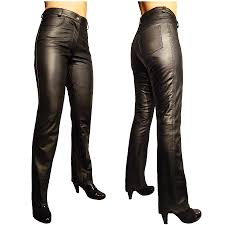 motorbike trousers womens nola lightweight leather trousers