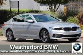 bmw of oakland used 2017 bmw 5 series for sale in oakland ca edmunds