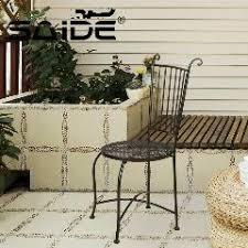 metal iron home furnishing chair coffee modern knock down