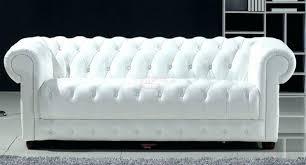 canapé chesterfield cuir blanc merveilleux canapé cuir blanc 3 places concernant design d intérieur