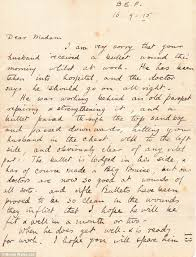 first world war postcards from frontline soldier to wife are