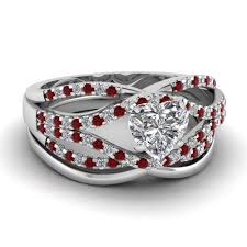 wedding band with engagement ring bridal sets buy custom designed wedding ring sets fascinating