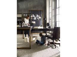 hooker furniture home office curata 2 pc desk group 1600 10453 dkw