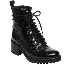 buy combat boots womens womens steve madden geneva combat boot free shipping exchanges