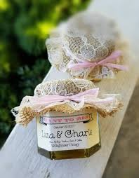 honey favors rustic wedding favors 150 honey favors wedding favors