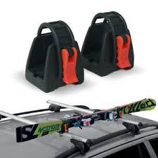 porta sci auto portasci porta sci auto per barre portatutto universale 1 paio di