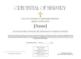 christian ordination services