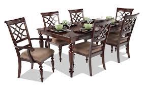 dining room sets 7 piece woodmark 7 piece dining set bob s discount furniture