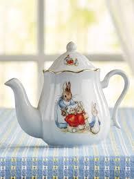 beatrix potter tea set beatrix potter rabbit classic porcelain teapot