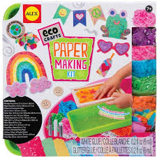 paper kit eco craft educational toys planet