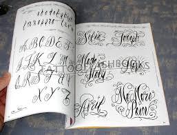 custom script lettering tattoo design photo 2 real photo