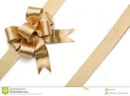 gold ribbon gold ribbon with bow royalty free stock image image 34997396