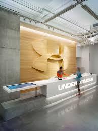 Retail Reception Desk Under Armour Reception Desk Www Corporatecare Com Office Lobby