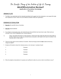 study guide for evolution u0026 taxonomy