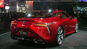 lexus car 2016 detroit 2016 lexus lc 500 in u0027production car looks like a concept