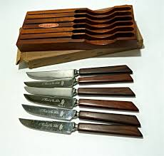 vintage kitchen knives vintage kitchen hart co sheffield grill dinner knives