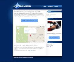 Google Maps Bend Oregon by Web Design Example Agate Water Company Bend Oregon