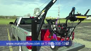 vestil hitch mounted truck jib crane youtube