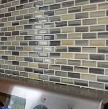 Hand Painted Tiles For Kitchen Backsplash Sample Beach Break Hand Painted Glass Mosaic Subway Tiles