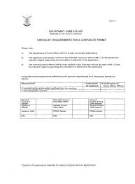 Visa Covering Letter Format Royal Services South Africa Visa Information