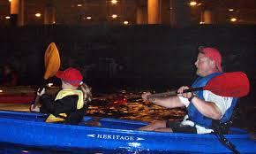 kayak lights for night paddling city lights night paddle city lights night paddle groupon