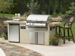exterior good looking outdoor kitchen barbecue design idea