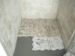 river rock bathroom ideas river rock shower floor best bathroom design ideas images on