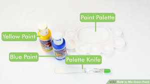 3 ways to blend acrylic paint wikihow 3 ways to mix green paint wikihow