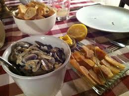 cuisiner des tellines tellines and botargo picture of la telline arles tripadvisor