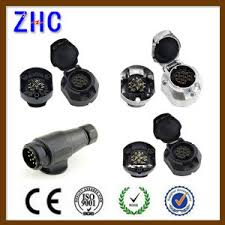 china factory price eu 13 pin plastic truck trailer plug and