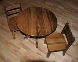 unfinished childrens table and chairs unfinished round table chair set
