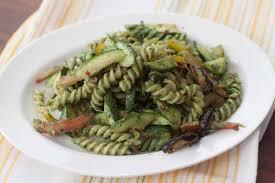 spirulina and mint basil pesto pasta recipe by archana u0027s kitchen