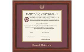 harvard diploma frame harvard