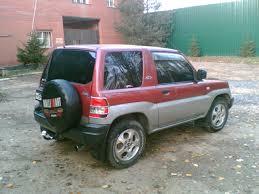 1998 mitsubishi pajero io pictures 1 8l gasoline automatic for