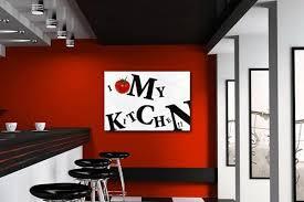 tableau de cuisine moderne tableau cuisine tableau déco cuisine décoration murale design