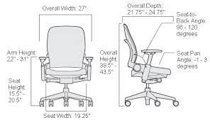 Armchair Measurements Home Design Magnificent Chair Standard Dimensions Unique Desk