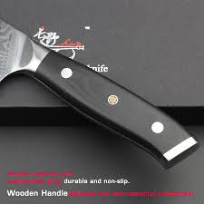 aliexpress com buy haoye 8 inch damascus chef knife japanese aliexpress com buy haoye 8 inch damascus chef knife japanese vg10 steel kitchen knives g10 handle with beautiful rivets meat slicer gift 2017 new from