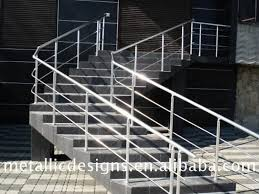 handrail metal railing hand railings for stairs outside grill