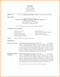 Electro Mechanical Technician Resume Sample Pharmacy Technician Resume Examples Resume For Your Job Application