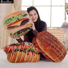 simulation 3d cuisine free shipping 3d simulation food pillow cushion creative evil