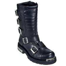 men s motorcycle boots men s harley davidson side light 91687 biker boot