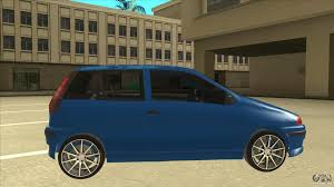 fiat punto 2002 fiat punto mk1 tuning for gta san andreas