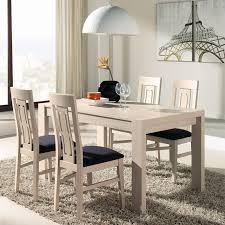 table et chaises salle manger chaises chêne clair afia salle à manger tousmesmeubles