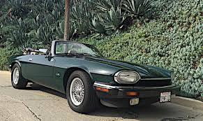 hemmings find of the day u2013 1993 jaguar xjs convertible blog