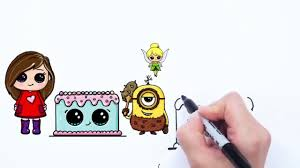 how 2 draw a cute cartoon fish video dailymotion
