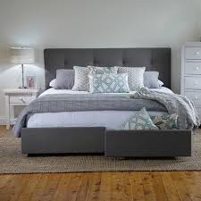King Size Bed Frame With Storage Drawers Plans Storage Decorations by Georgia King Bed Frame With Storage Drawers Products 1825